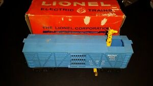 Lionel-Operating-Giraffe-Car-With-Tell-Tales-3376-O-Scale