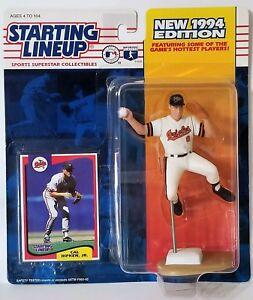 1994 Starting Lineup Cal Ripken Jr Baltimore Orioles SLU Kenner Sports Figure