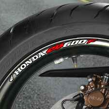 8 x CB 600 F Wheel Rim Stickers Decals  cb600 abs hornet - B