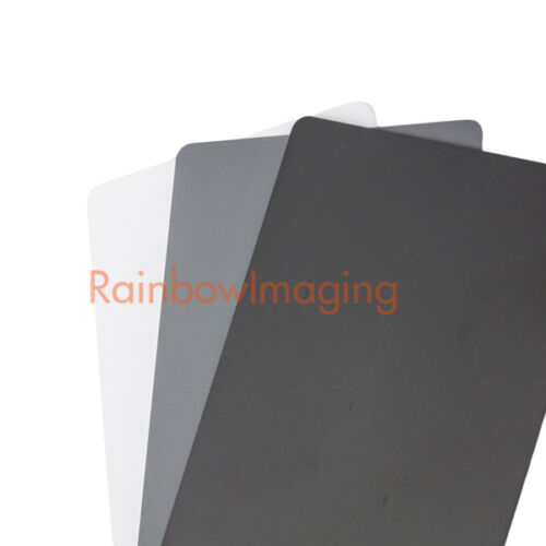 3 in 1 Digital Black White Gray Card & White Balance for Canon Nikon Sony Camera
