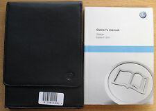 Genuine Vw Sharan Manual Owners Manual Cartera 2010-2015 Pack 14565