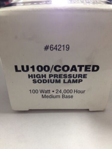 Lot of 12 Superior Life LU100//COATED MED 100W High Pressure Sodium Medium Base