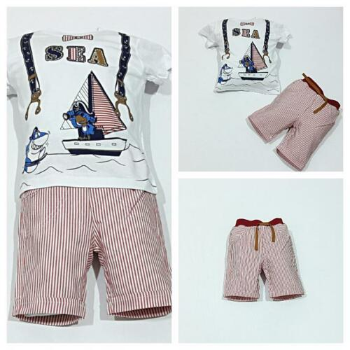 coiffe ShortsTaille 92; 98; 104; 110 ♥ NEUF ♥ layette2 Pièces
