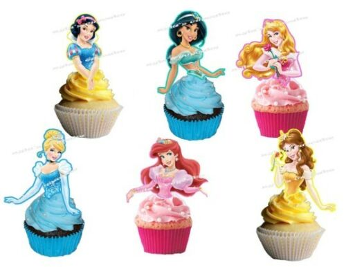 Disney Princesses Cupcake Topper 12pcs