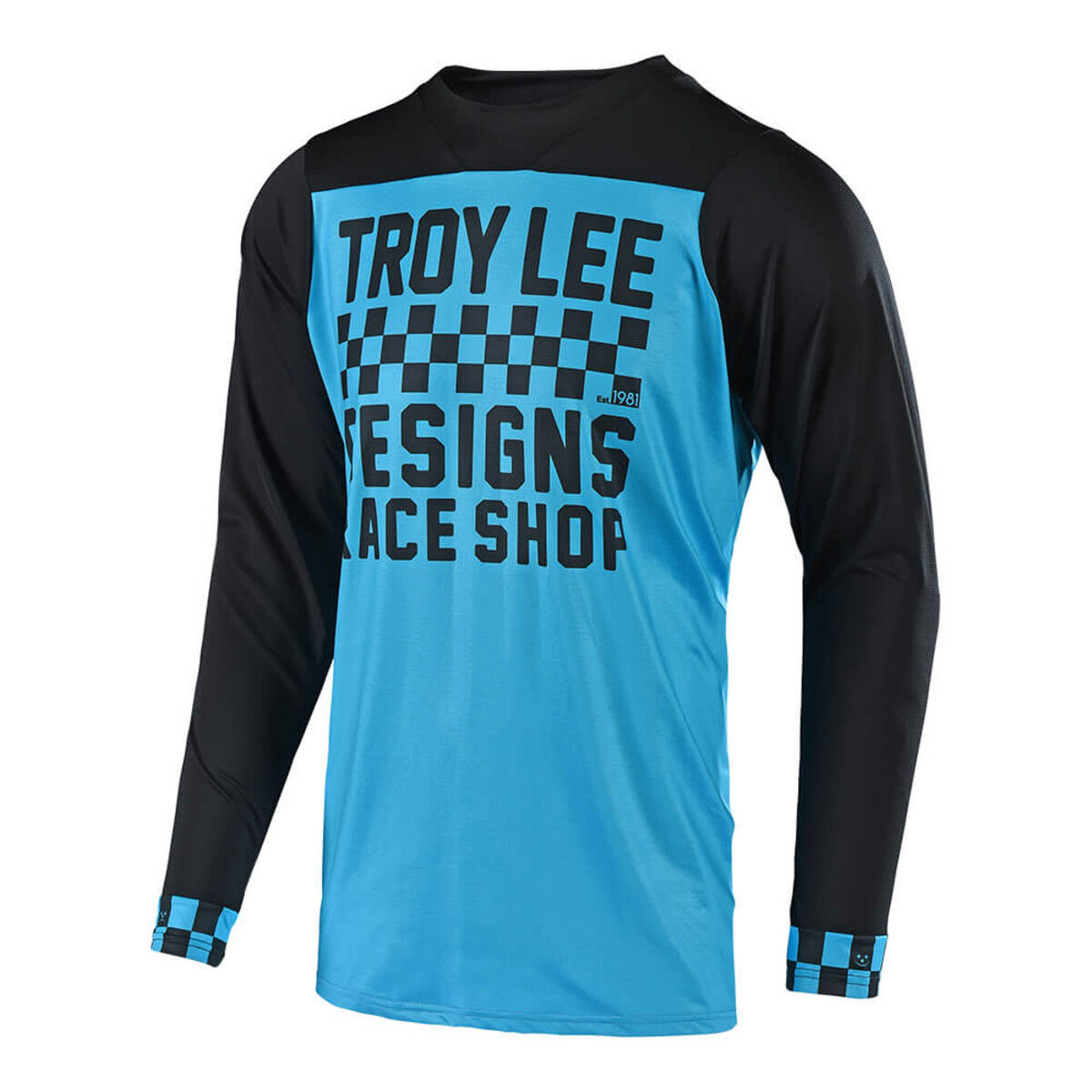 Troy Lee Designs Mountainbike Trikot Skyline L L L / JERSEY; Zielflagge Ocn / a06fee
