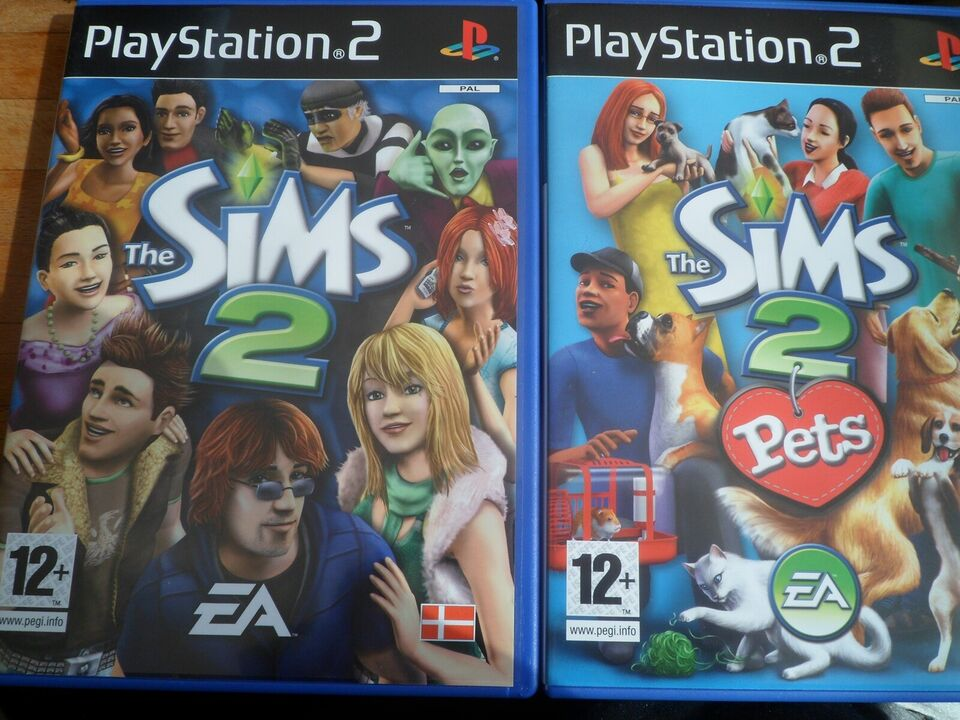 The Sims 2 + The Sims 2 Pets, PS2