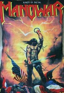 105-75-Extra-Large-Manowar-MANOHARA-Cloth-Poster-Flag-Part-2-Legend-Limited-JPN
