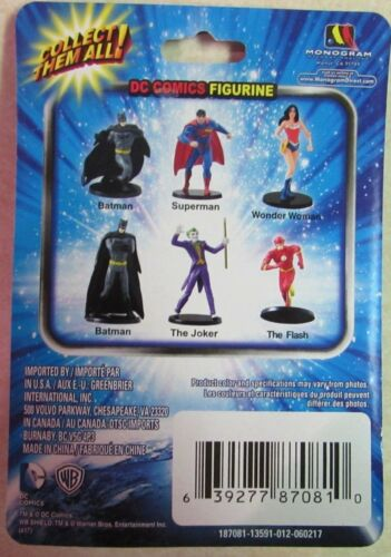 "Monogram 2/"" Miniature Figurine WONDER WOMAN DC Comics New in Package"