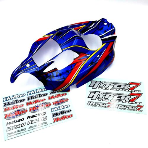 with Hobao stickers Body Shell Genuine HoBao Hyper 7 TQ2 Blue Shell Cover Lid