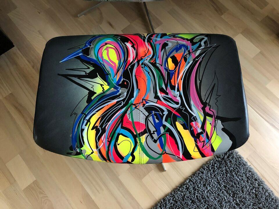 Læderlænestol, læder, BoConcept / Hornsleth