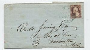 1852-Camden-AR-CDS-on-11-folded-letter-green-H-210