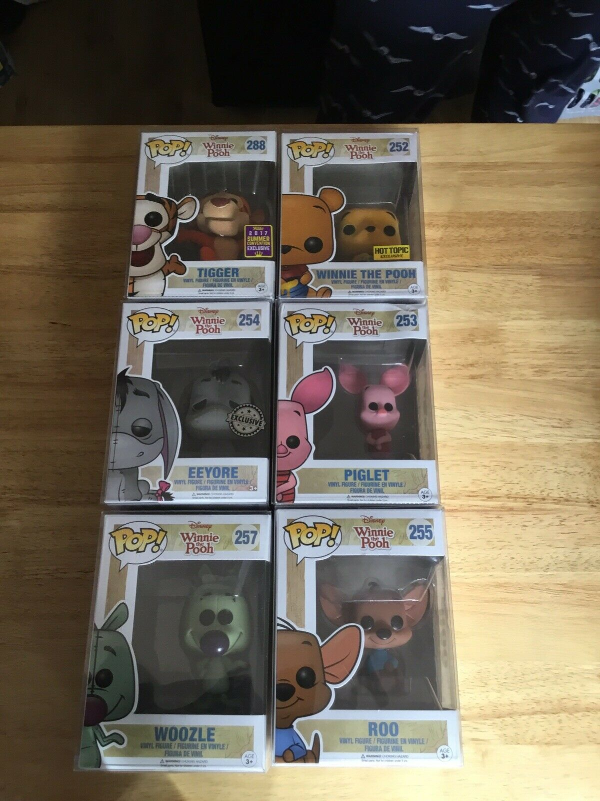 Funko Pop Winnie The Pooh Collection Set Of 6