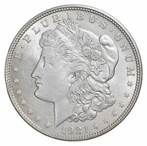 1-Brilliant-AU-Uncirculated-1-1921-Morgan-US-Silver-Dollar-90-BU-Bulk-Lot