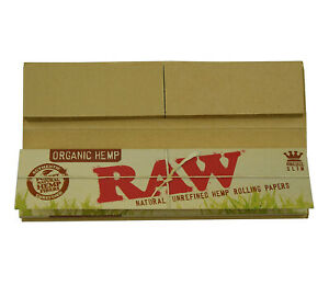 RAW-Organic-Hemp-Connoisseur-King-size-Slim-Rolling-Papers-with-Tips