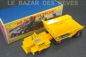 MATCHBOX-KING-SIZE-DART-DUMP-TRUCK-REF-K2-Boite