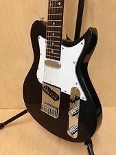Caraya Ei38BK 3/4 Size Traveler Series Tele-Style Electric Guitar,Black-Full Kit