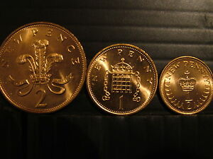 3 x  SUPERB UNC 1971 COINS - Manchester, United Kingdom - 3 x  SUPERB UNC 1971 COINS - Manchester, United Kingdom