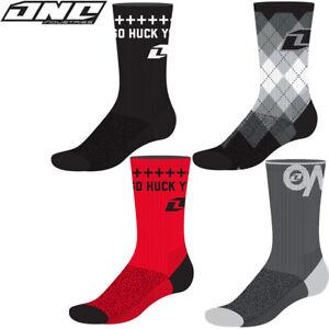 ONE-INDUSTRIES-CASUAL-CREW-SOCKS-motocross-mx-bike-ADULT-One-SIZE-GOLF