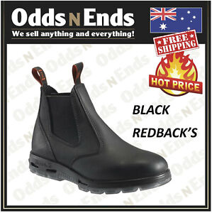 redback bobcat ubbk elastic sided soft toe work boot