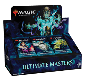 mtg ultimate masters booster box without ultimate box topper ebay
