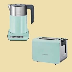 bosch set wasserkocher kaffeemaschine toaster
