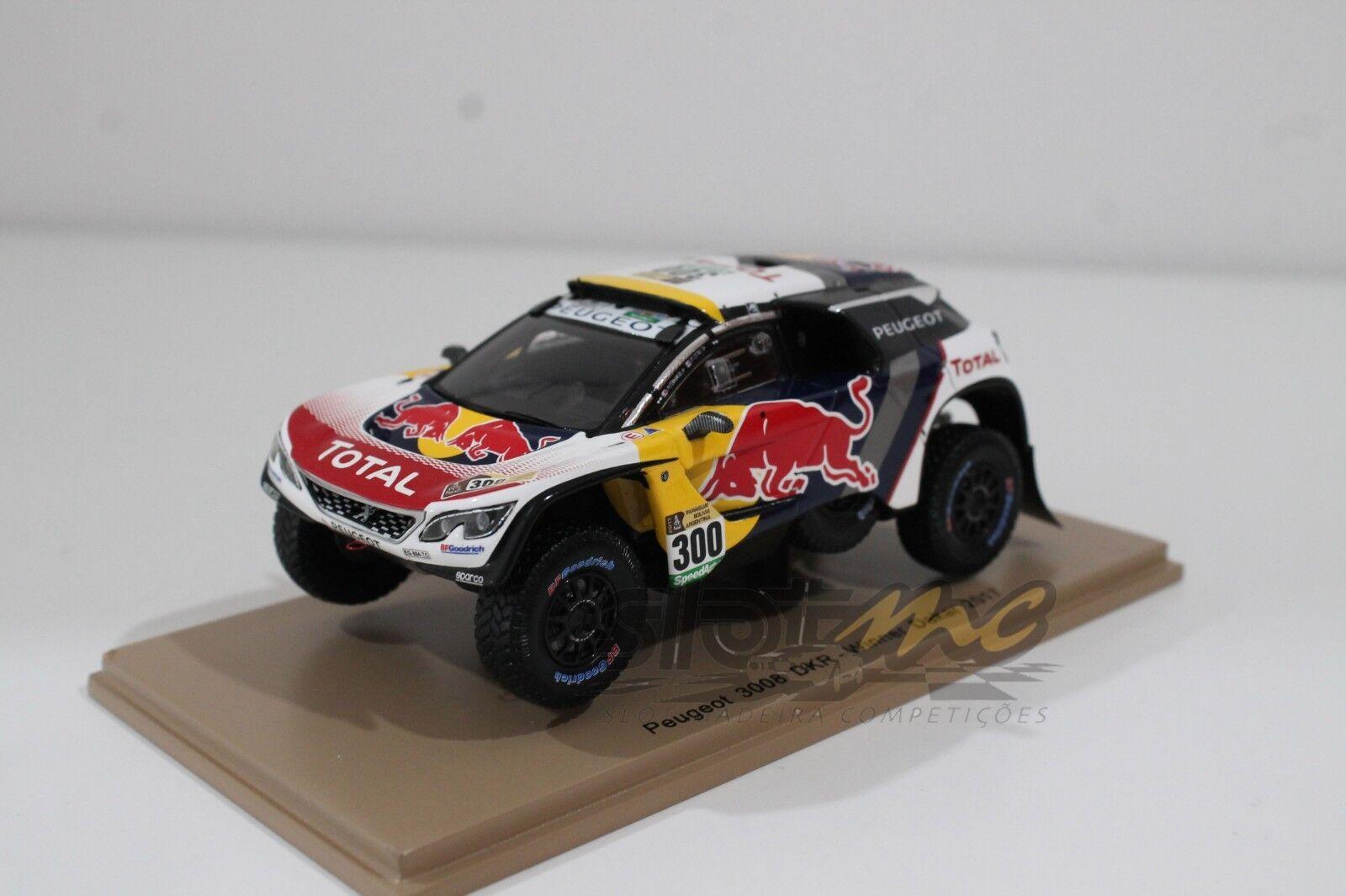 SPARK S5611 PEUGEOT 3008 DKR-Winner Dakar 2017 1 43  NEW