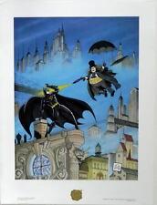 BATMAN RETURNS - PENGUIN'S REVENGE LIMITED EDITION PRINT #241 Bob Kane LITHO