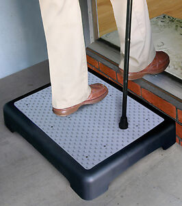 Outdoor Step Weather Resistant Platform Rubber Mat Indoor