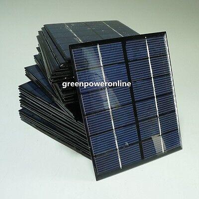 1PC 2W 6V 330mA Mini Solar Panel Module System Epoxy Cell Charger DIY B031 @US
