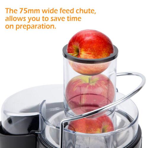 Puremate 1000 W NaturoPure centrifugeuse Machine /& jus de légumes Extracteur