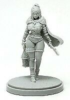 Pinup-Rawhide-Dame-for-Kingdom-Death-Game-Resin-Figure-Recast-30-mm