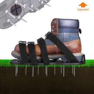 TAKELIFE-Rasenluefter-Schuhe-Nagelschuhe-Rasenbelueftung-5-5-cm-Naegel-30-cm