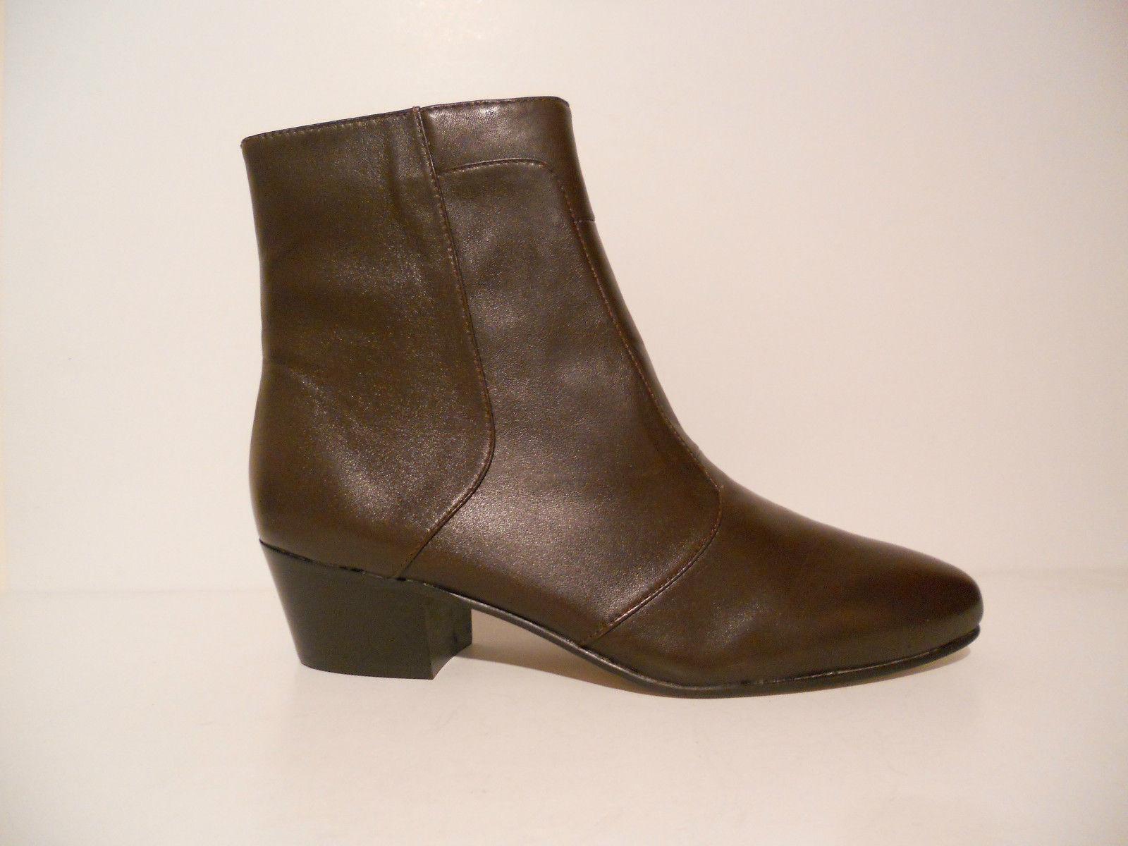Giorgio Boots Brutini Mens Calloway 80575 Leather Cuban Heel Boots Giorgio Dark Brown 6.5 -15 51a61b