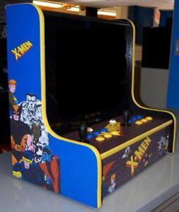 bartop jamma cabinet multiple game arcade x men star wars