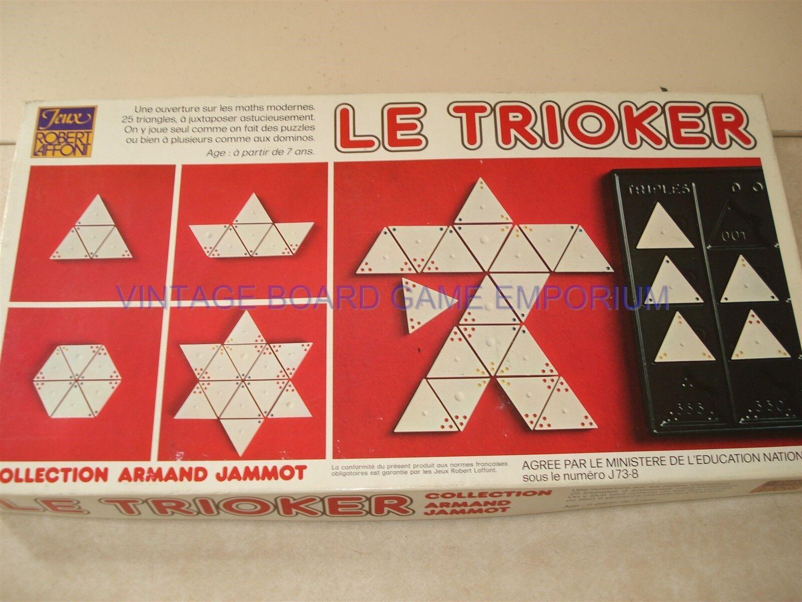 Le trioker GAME-trioker-MATEMATICA MODERNA - 100% - 25 TRIANGOLI-rare item