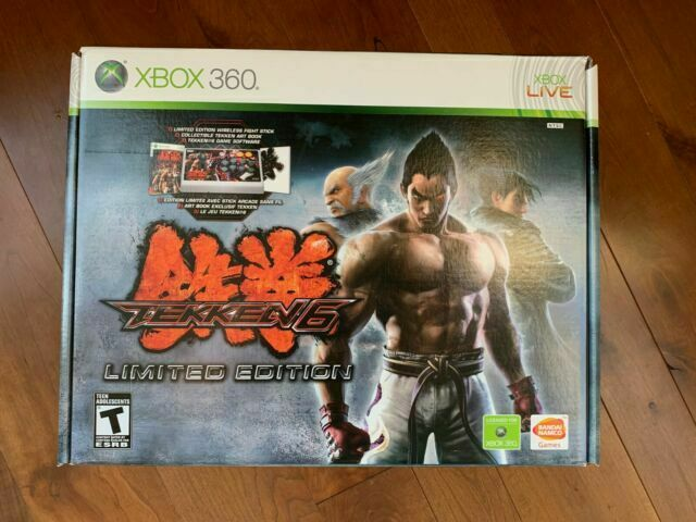 Tekken 6 Limited Edition For Xbox 360 With Rare Hori Wireless