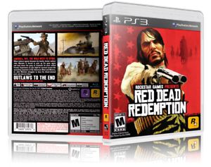 Details about Red Dead Redemption - Replacement PS3 Cover and Case  NO  GAME!!