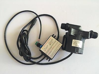 5-24Vdc Micro hot water circulation pump Speed Adjustable Soft Start 15m 1200LPH