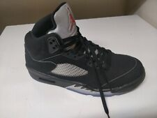 6d4965791bf2f item 4 RIGHT Shoe ONLY 2016 Nike Air Jordan V 5 Retro Black Silver Fire Red  White 11.5 -RIGHT Shoe ONLY 2016 Nike Air Jordan V 5 Retro Black Silver Fire  Red ...
