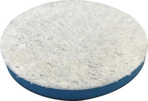 2 PACK 6.25 Inch SM Arnold Blue Microfiber Finishing Polishing Pads 43216-2