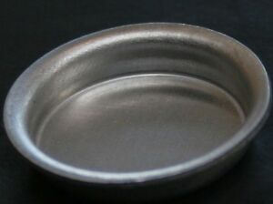 Metal-Shallow-Bowl-Dolls-House-Miniature-Kitchen-Utensil-or-Pets-Water-Bowl