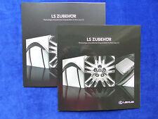 Lexus LS - Original Zubehör - Prospekt + Preisliste Brochure 04.2013