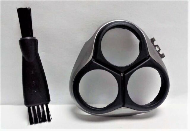 New Shaver Razor Head Beard Frame Holder Cover + Brush For Philips AT885 AT897