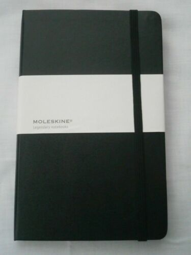 Land Rover Genuine Merchandise Large Hard Back Black A5 Notebook Ideal Gift