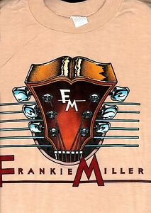 FRANKIE-MILLER-1982-STANDING-ON-THE-EDGE-TOUR-VINTAGE-LARGE-TEE-T-SHIRT-WITH-TAG