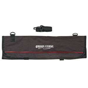 9 pocket chef knife case roll bag ergo chef new ebay. Black Bedroom Furniture Sets. Home Design Ideas