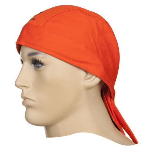 WELDAS Firefox Welders Flame Retardant Protective Welding Cap Hat HIGH QUALITY