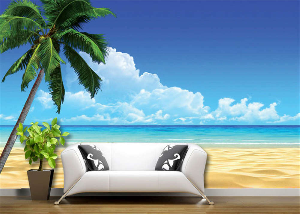 Lonely Concise Wood 3D Full Wall Mural Photo Wallpaper Printing Home Kids Decor