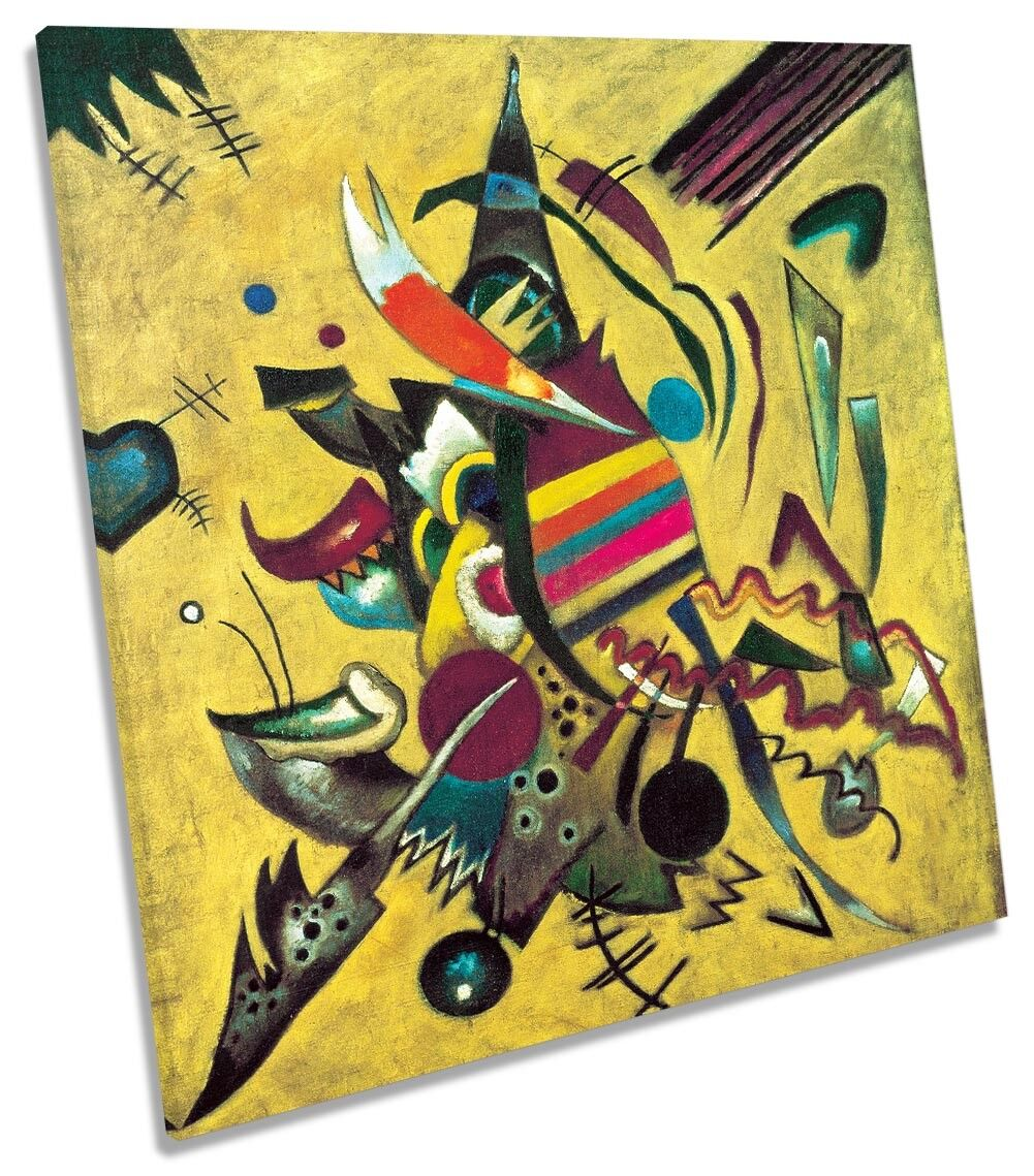 Wassily Kandinsky Points CANVAS WALL ART Square Print
