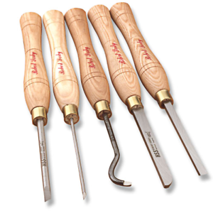 Robert Sorby #47HS 5-Piece Micro Hollowing//Spindle Combo Set